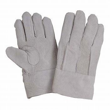 牛床革手袋 おたふく手袋 床革外縫い革手袋 [120双入] 3011 総革製