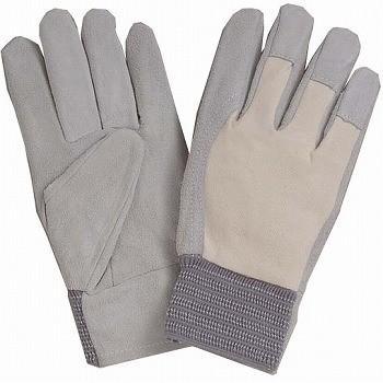 おたふく手袋 床革内縫い革手袋 甲メリヤスジャージ [200双入] WL-100