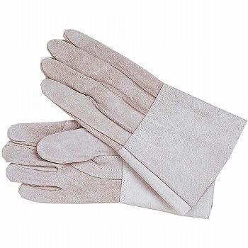 牛床革手袋 おたふく手袋 HK-5指長溶接用 革手袋 [120双入] 460 総革製
