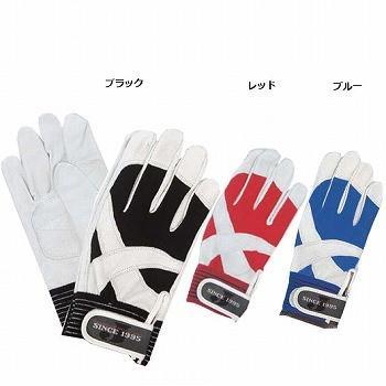 豚革手袋 おたふく手袋 クロスウィング [120双] JW-820 甲メリヤス(甲側布製)