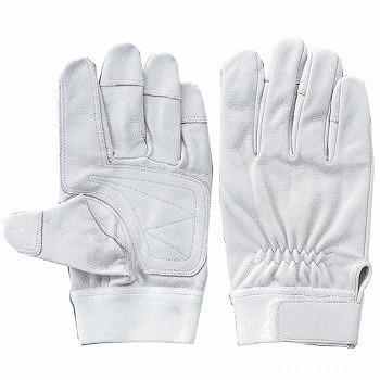 豚革手袋 おたふく手袋 二重アテツキマジック [10双] E-3 総革製