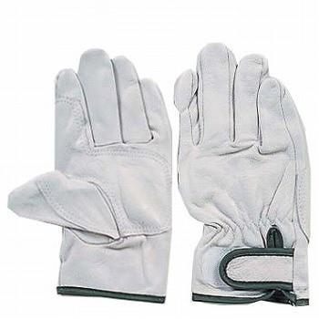 豚革手袋 おたふく手袋 補強アテ皮付 マジック 3双組×50 [総数150双] R-243 総革製