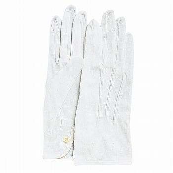 おたふく手袋 綿手袋 カーフレンドセームNo.1000(ホック付) [480双入] 1000