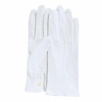 おたふく手袋 スベリ止付綿手袋 カーフレンドセームNo.3000(ホック付) [480双入] 3000
