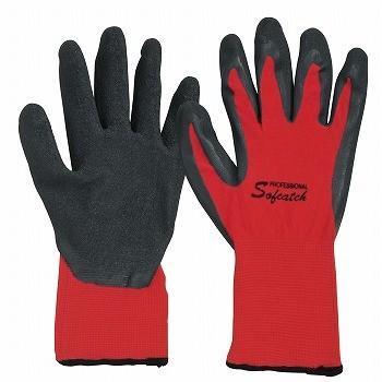 背抜き手袋 おたふく手袋 ソフキャッチ PRO 3双入×50セット [総数150双] A-363 天然ゴム