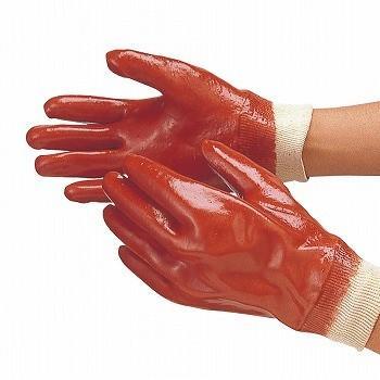 塩ビ手袋 おたふく手袋 タフローブ(ジャージ付) [120双入] 200 ビニール手袋 裏布あり