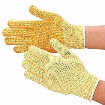 耐切創手袋 おたふく手袋 スーパーアラミド手袋(スベリ止付) [100双入] 809