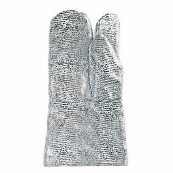 おたふく手袋 耐熱アルミ手袋 3本指35cm [30双入] C
