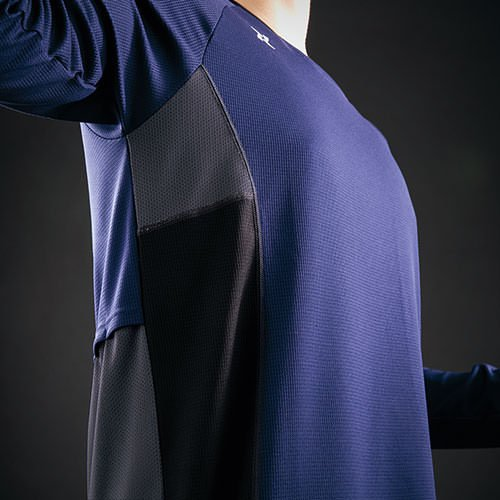 AITOZ アイトス TULTEX 空調服用長袖メッシュTシャツ AZ-551049 mamoru-k 03