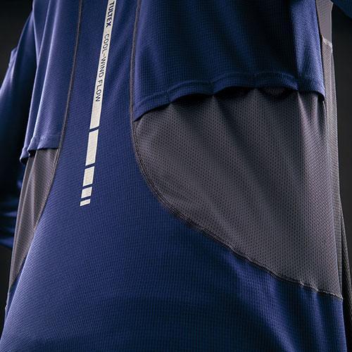 AITOZ アイトス TULTEX 空調服用長袖メッシュTシャツ AZ-551049 mamoru-k 04