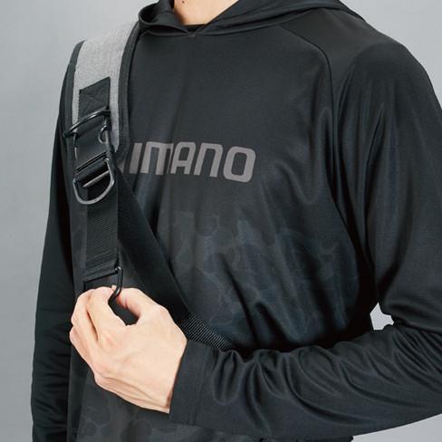 シマノ スリングショルダーバッグBS-025T Mサイズ ブラックダックカモ manboo-shop 02