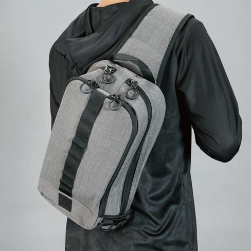 シマノ スリングショルダーバッグBS-025T Mサイズ ブラックダックカモ manboo-shop 03