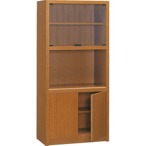 プレジデント用書棚 プレジデント用書棚 PK-818B 〔社長室、役員用家具〕