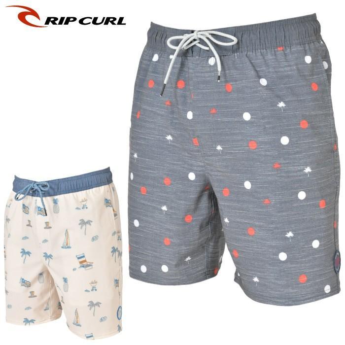 """日本正規店 RIPCURL リップカール メンズ ボードショーツ T01-405 COLONEL ERASTIC 19"""" サーフトランクス"""
