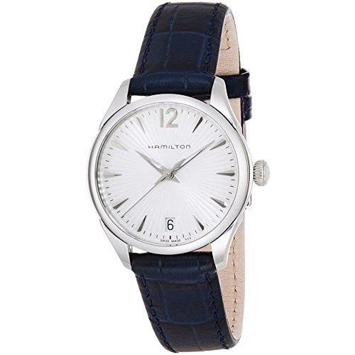 2019年春の 当店1年保証 ハミルトンHamilton Women's Analogue Quartz Watch with Leather Strap H42211655, ハルエチョウ fcca0c35