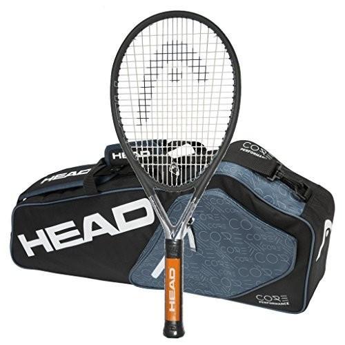 正規 テニスHEAD Ti.S6 Strung Tennis Racquet with 3 Racquet Bag (4-1/4), ギフト通販ハピトラ 5e69975e
