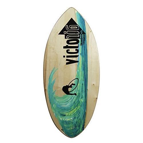 人気ブランドの サーフィンVictoria Skimboards Woody XL, 松代町 ddfffeda