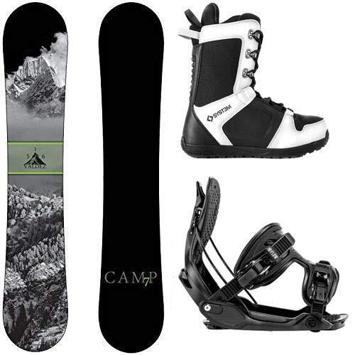 【予約販売品】 スノーボードCamp Seven Valdez Valdez 2019 Snowboard Snowboard Seven with Flow Snowboard (156 Bindings Snowboard Package (156 cm, Medium), カノヤシ:d499ffaa --- airmodconsu.dominiotemporario.com