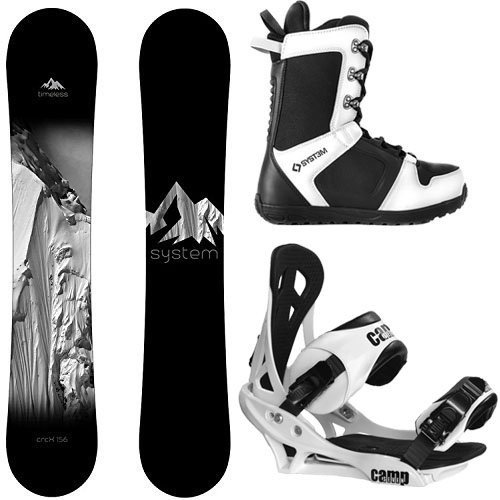 【T-ポイント5倍】 スノーボードSystem Package Timeless Snowboard 153 cm-Summit Binding 2019 APX Snowboard Boots-9, ベビー&キッズ Cheermomチアマム 02a3ff21