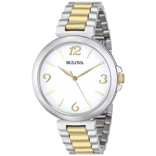 公式の  当店1年保証 ブローバBulova Women's 98L194 Analog Display Japanese Quartz Two Tone Watch, sunlifestore 8331298b