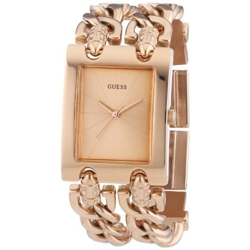 驚きの価格 当店1年保証 ゲスGUESS W0073L2 Watch W0073L2 Women's Trendy Rose ゲスGUESS Gold-Tone Double-Chain Bracelet Watch, CUTE&HEALING:8f66a4f7 --- airmodconsu.dominiotemporario.com