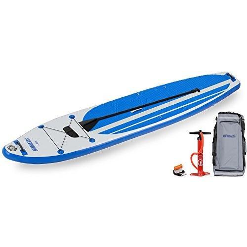 最初の  スタンドアップパドルボードSea Eagle LB126 Inflatable SUP Longboard - Start Up Package, selfish 3b4332a8