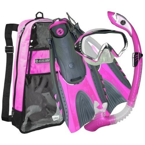スペシャルオファ シュノーケリングU.S. Dry Mask/Paradise Divers LX Adult Starbuck II Purge LX Mask/Paradise Dry LX Snorkel/Hingeflex., カー吉:fe526dd2 --- airmodconsu.dominiotemporario.com