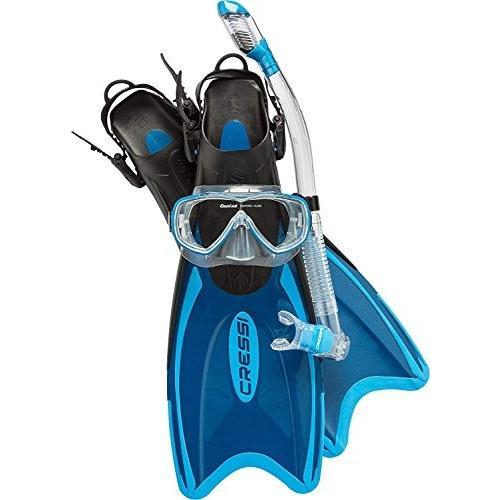 本物品質の シュノーケリングCressi Palau Palau LAF Set, Set, blue, blue, S/M, Abbot kinney:f714bf12 --- airmodconsu.dominiotemporario.com