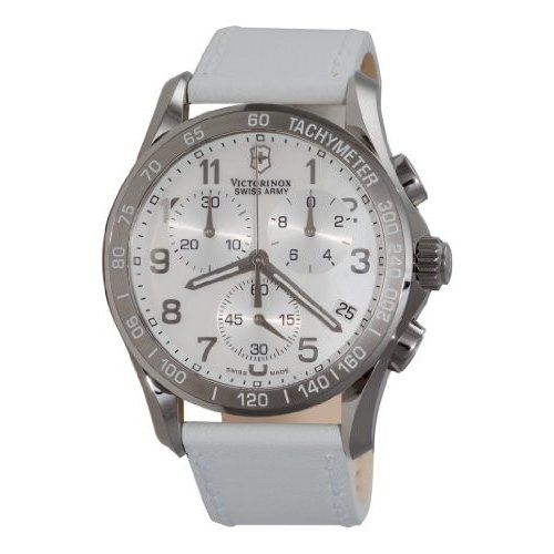 ラウンド  当店1年保証 ビクトリノックスVictorinox Swiss Army Women's 241256 Army Classic Women's Chronograph Mother-of-Pearl Dial Dial Watch, 湯田町:fb49a666 --- airmodconsu.dominiotemporario.com