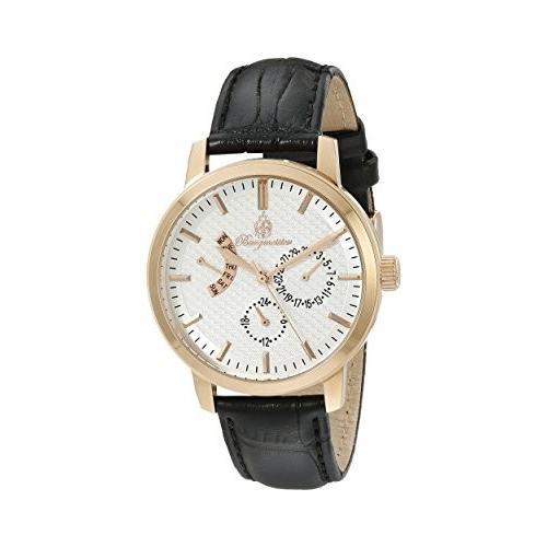 高価値 当店1年保証 ブルゲルマイスターBurgmeister Women's BM218-312 Analog Display Quartz Black Watch, 唐桑町 321357b5