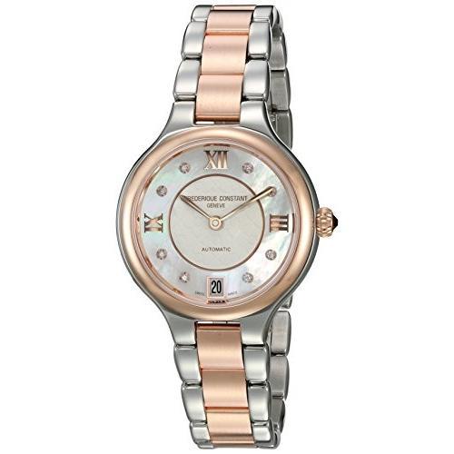 2019激安通販 当店1年保証 フレデリックコンスタントFrederique Constant Women's Delight Automatic-self-Wind Watch with Stainles, 恵春堂 b487fc67