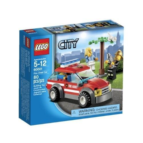 レゴ シティ 6021680 LEGO City Fire Chief Car (60001)|maniacs-shop