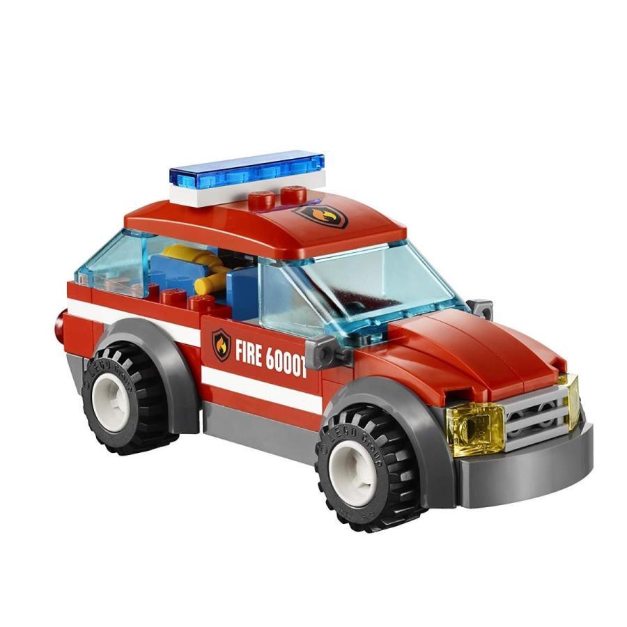 レゴ シティ 6021680 LEGO City Fire Chief Car (60001)|maniacs-shop|04