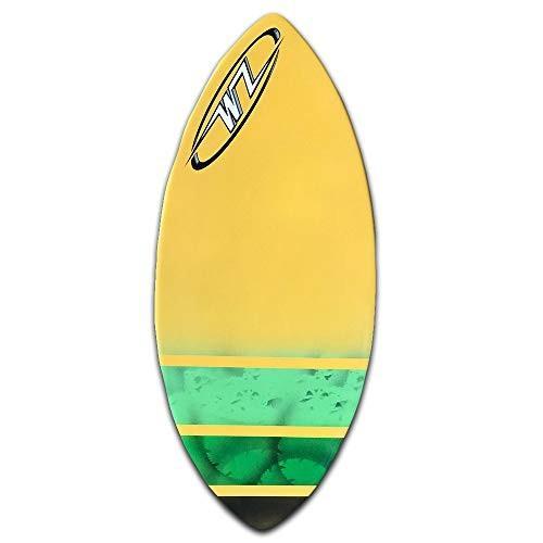 『4年保証』 サーフィンSkimboard Package - Yellow - 45