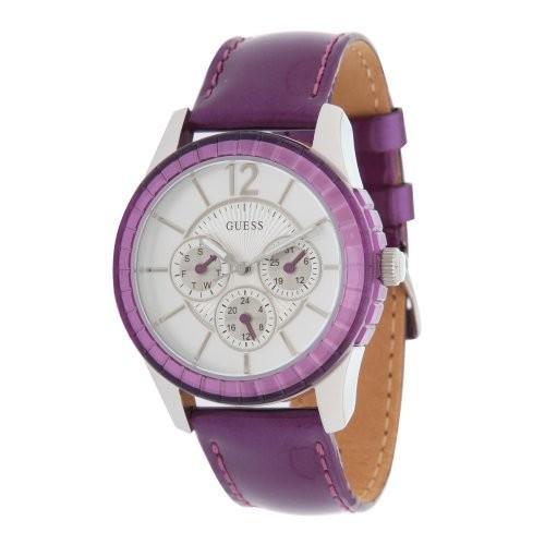 2018新入荷 当店1年保証 ゲスGuess W95134L4 Ladies Ladies Watch Purple Watch W95134L4, トップ学生服:df8906b0 --- airmodconsu.dominiotemporario.com