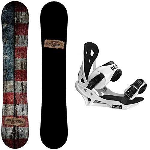 人気商品 スノーボードCamp Seven Drifter Snowboard with (158 Wide) Summit Drifter Bindings Men's Snowboard Package (158 cm Wide), ウォーターカヌー専門店バイエルン:39ecf2ad --- airmodconsu.dominiotemporario.com