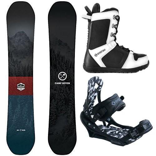 【2018秋冬新作】 スノーボードCamp Wide-System Seven Package Redwood Snowboard 158 cm Wide-System APX Package cm Bindings-System APX Boot 11, タバヤマムラ:7d10b834 --- airmodconsu.dominiotemporario.com