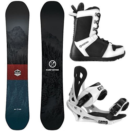 【安心発送】 スノーボードCamp Seven cm Package Redwood Snowboard 158 cm Snowboard Wide Wide Summit Bindings-System APX Boot 8, モリヤマシ:75a1268d --- airmodconsu.dominiotemporario.com