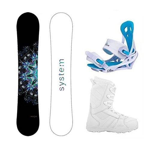 【即納!最大半額!】 スノーボードSystem Package MTNW Snowboard-150 Women's Snowboard-150 cm-Siren Mystic MTNW Bindings-Siren Snowboard Lux Women's Snowboard Boots-8, フォーラル:05706113 --- airmodconsu.dominiotemporario.com