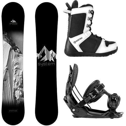 【国産】 スノーボードSystem Package Timeless Snowboard 159 cm-Alpha MTN XL-APX Snowboard Boots Size 12, ペアリング&ピンキーリング FISS 8b0d72e7