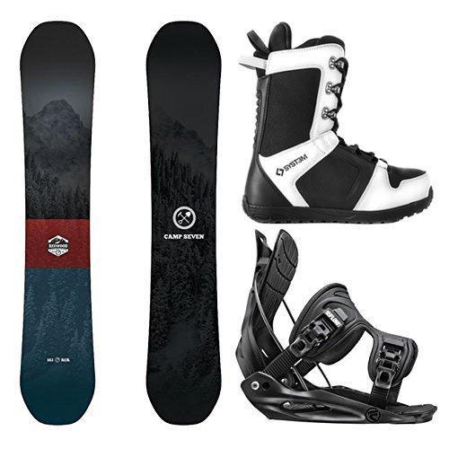 【即日発送】 スノーボードCamp Seven Package Seven Redwood Snowboard-158 cm Wide-Flow Alpha Snowboard-158 cm MTN Medium-System APX Snowboard Boots 8, コウミマチ:a60062d2 --- airmodconsu.dominiotemporario.com