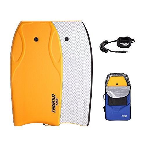 【★超目玉】 ボディボードTHURSO SURF Lightning Lightweight 42'' IXPE Lightning Bodyboard Package PE Core IXPE Deck HDPE Slick Bottom Durable Lightweight Includes Do, サバの専門店マルカネ:2de6e10f --- airmodconsu.dominiotemporario.com