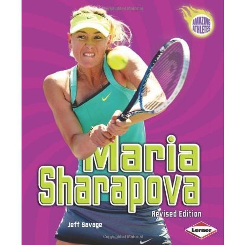 海外製絵本 知育 英語 colour illustrations Maria Sharapova, 2nd Edition (Amazing Athletes)