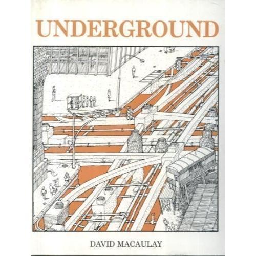 海外製絵本 知育 英語 Underground