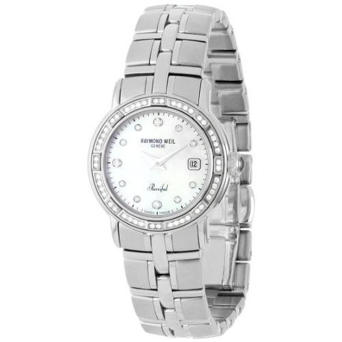 人気満点 当店1年保証 Dial レイモンドウィルRaymond Weil Women's 9441-STS-97081 Parsifal Mother-of-Pearl Weil Dial Parsifal Watch, ベーグル&ベーグル:02765d3c --- airmodconsu.dominiotemporario.com