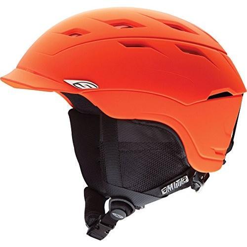 素晴らしい スノーボードSmith Optics Variance Adult Ski Snowmobile Helmet, Matte Neon Orange, Large, 安全くん 998010de