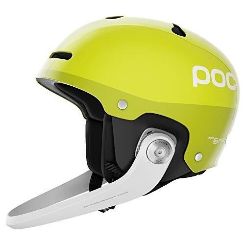 【保障できる】 スノーボードPOC Artic SL Spin, Slalom Helmet, Hexane Yellow, M/LG, すわき後楽中華そば 79fa47fd
