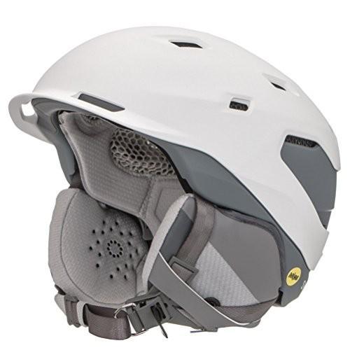 [宅送] スノーボードSmith Optics Quantum Adult MIPS Ski Snowmobile Helmet - Matte White Charcoal/Large, 卸問屋 防犯工房 a480e997