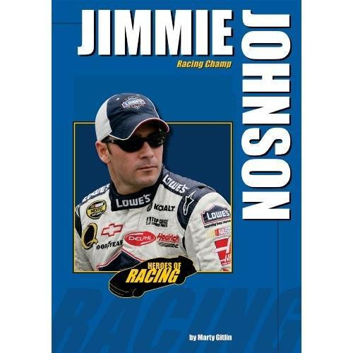 海外製絵本 知育 英語 Jimmie Johnson: Racing Champ (Heroes of Racing)