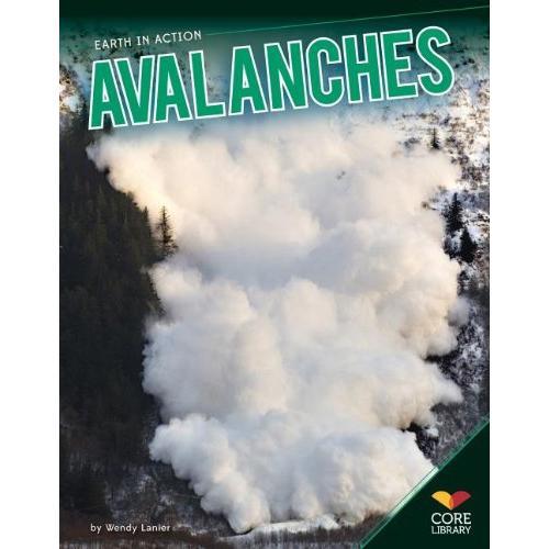 海外製絵本 知育 英語 Avalanches (Earth in Action)